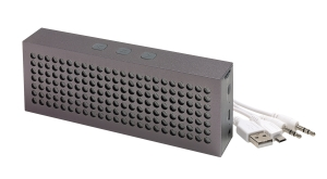 Głośnik Bluetooth BRICK, antracyt
